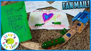 BRIO Smart Trains and FAN MAIL! Fun Toy Trains for Kids with Izzy's Toy Time! thumbnail