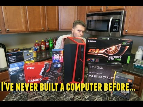 Building New PC Live!!