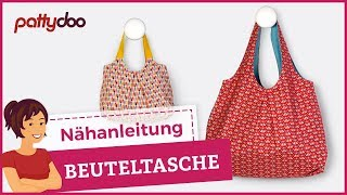 How to sew a reversible bag - free pattern & DIY tutorial