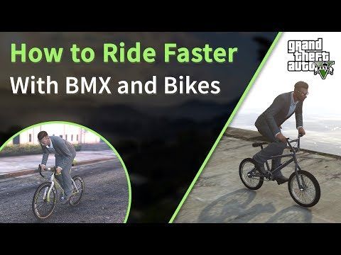 Gta 5 Ride Bike Faster Win Any Race With Bmx Gta Online Youtube