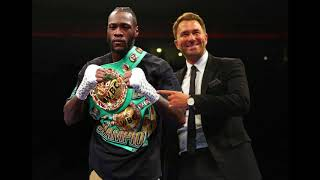 While Hearns play games, Wilder is fighting inside and outside the ring