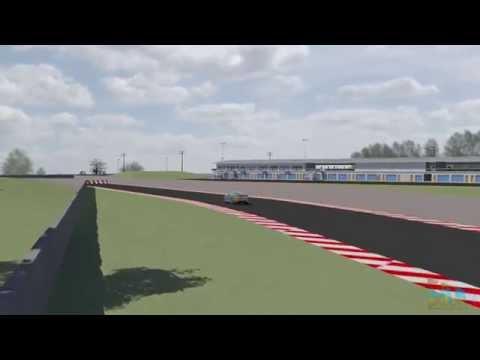 Modelling with LiDAR: Townsville V8 Track