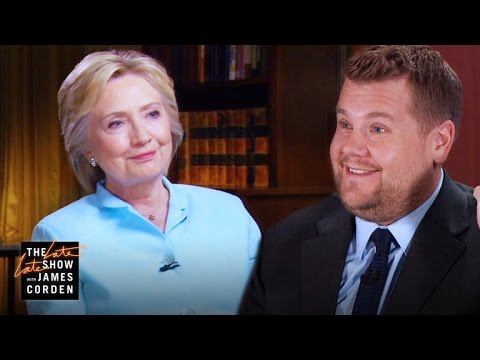 James Corden's '60 Minutes' Interview w/ Hillary Clinton