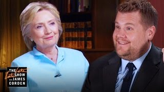 James Corden\'s \'60 Minutes\' Interview w/ Hillary Clinton