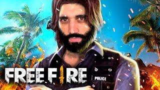 FREE FIRE, jogando no TABLET pela primeira vez! É MELHOR que no PC?