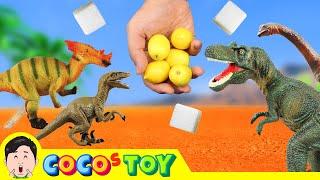 맛있는 파티에 공룡 초대하기!! 공룡 만화, 다...