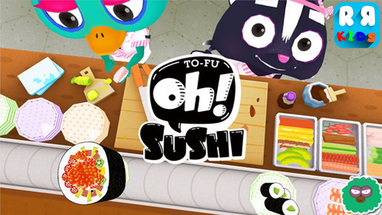 TO-FU Oh!SUSHI – Kids Play and Learn Cooking