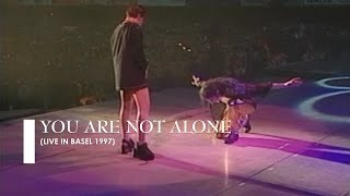 "Michael Jackson - ""You Are Not Alone"" [live in Basel] (60fps)"