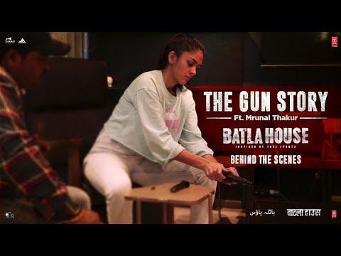 Batla House | Mrunal's Gun Story | starring Mrunal Thakur, John Abraham, Nikkhil Advani