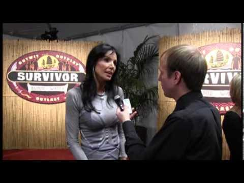 Monica Culpepper - Survivor: Blood Vs. Water red carpet interview
