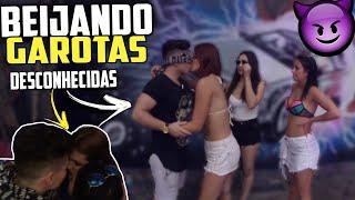 BEIJEI  3 GAROTAS  AO MESMO TEMPO EM UMA FESTA    KISS CHALLENGE