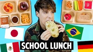 Trying SCHOOL LUNCH Around The World thumbnail