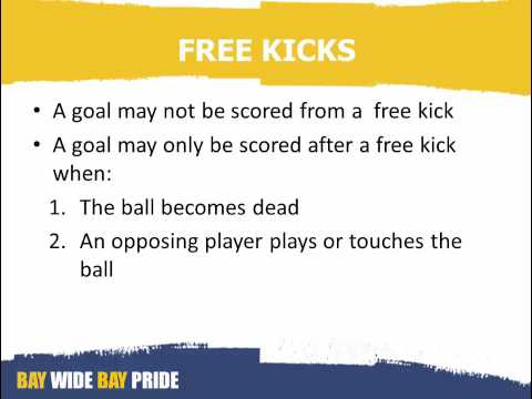Introduction to Rugby Refereeing Module 12 Advantage, Free Kicks and Penalty Kicks