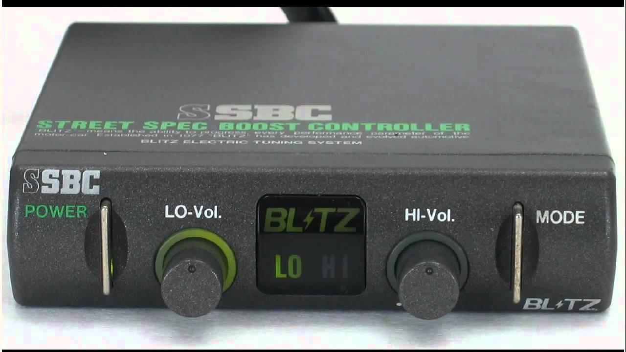 Настройка инструкция буст контроллер blitz