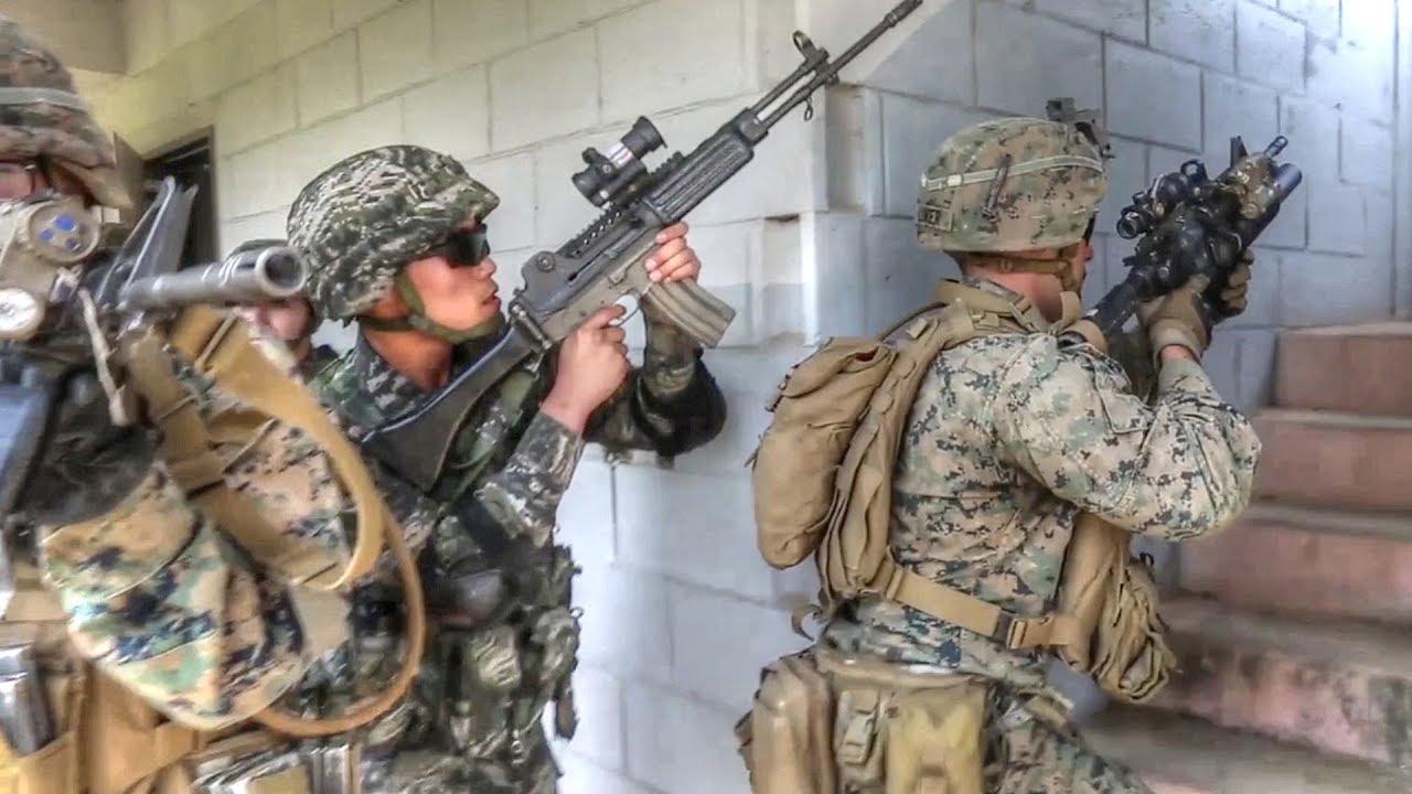 U S  Marines, Republic of Korea Marines Train For War, Strengthen Alliance