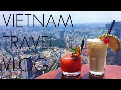 Vietnam Travel Vlog and Hotel room tours