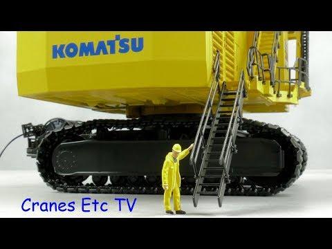 Bymo Komatsu PC8000 Electric Mining Shovel By Cranes Etc TV