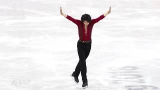JunHwanCha(차준환) Short program(SP) 4K 180216 Pyeongchang 2018 Figure Skating Men Single