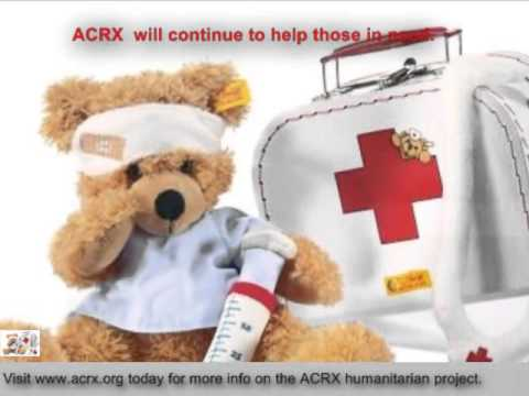 Open Arms Christian Child Development Center Receive Tribute & Medication Help by ACRX