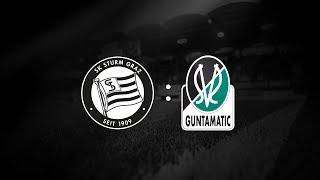 Spielaufzeichnung: Sturm Graz 2:1 SV Ried (0:0)