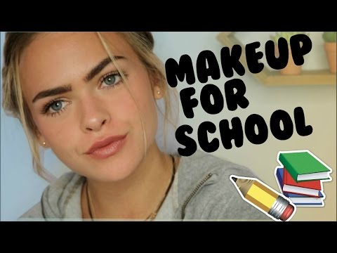 Natural Drugstore Makeup Tutorial for School