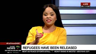 Refugees arrested in Cape Town released : Chris Nissen