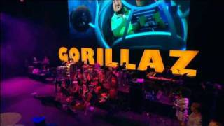 Gorillaz - On Melancholy Hill (Live @ Glastonbury 2010)