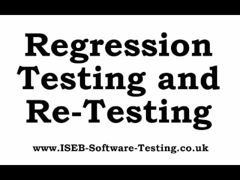 What is the difference between Regression Testing and