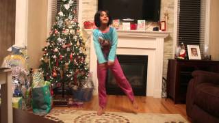 Ria dancing for Dhating Naach