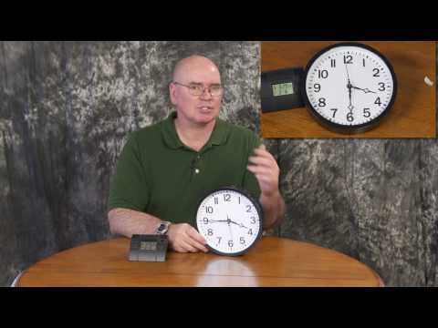 "Changing a Regular Clock to a Radio Controlled ""Atomic"" Clock"