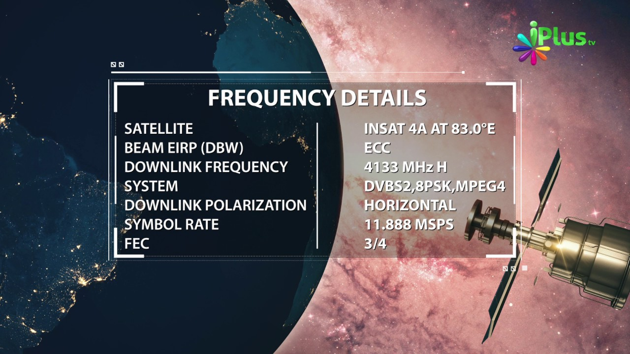 Frequency Tv Iplus Tv Frequency