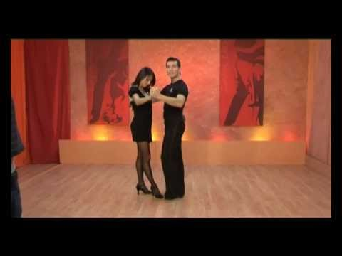 Salsa On2 (Mambo) Beginners Lesson 1 with Oliver Pineda and Luda Kroiter