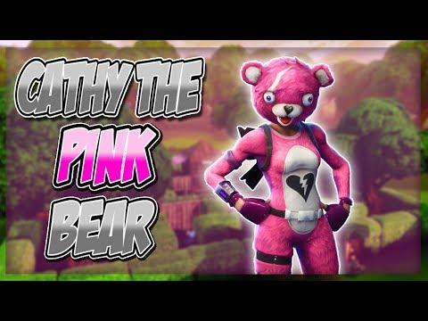 REVENGE ON CATHY THE PINK BEAR! - Fortnite Battle Royale Highlights