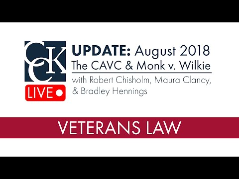 Update: Class Actions at the Court of Appeals for Veterans Claims (2018)