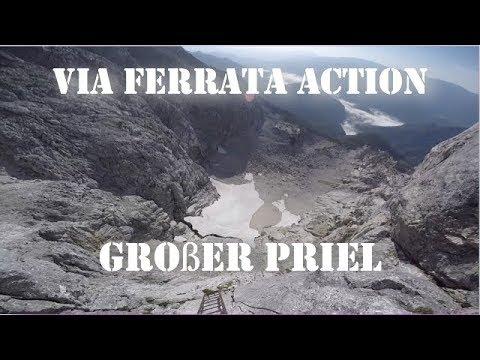 Klettersteig Priel : Bert rinesch klettersteig großer priel august 2017 hd youtube