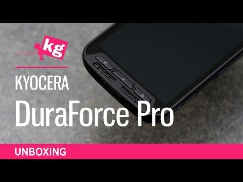 Kyocera DuraForce Pro Unboxing [4K]