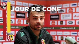 VIDEO: Jour de conf avant Guingamp - Lens