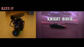 [AIY Projects] Kinect Based Assistant Robot - K.I.T.T. Look