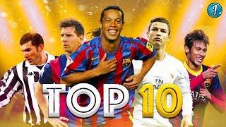 Top 10 Most Entertaining Football Legends ● Ronaldinho Gaúcho ● Cristiano Ronaldo ● Lionel Messi