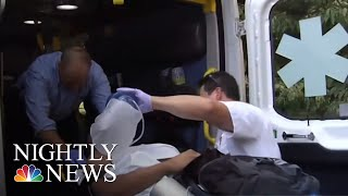 Massive Emerg. Response In Connecticut Park After At Least 42 Suspected Overdoses | NBC Nightly News