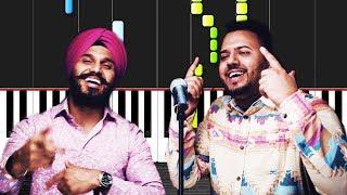 Daru Badnaam   Kamal Kahlon & Param Singh - Piano Tutorial by VN