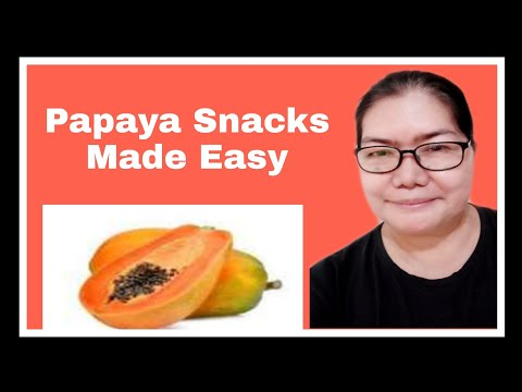 Papaya Snacks made easy