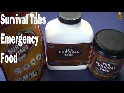 The Survival Tabs - Emergency Survival Food - Review