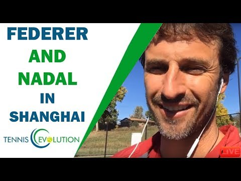 Federer and Nadal in Shanghai