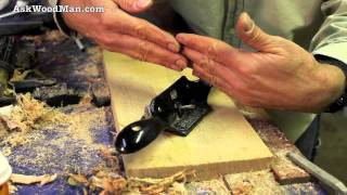 Scraping Demo With The Stanley #80 • Complete Sharpening Series Video 24