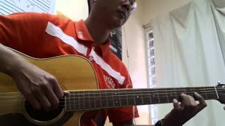 I won't give up - Jason Mraz (Guitar Solo)