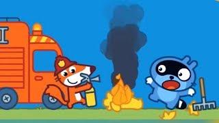 Малыш Панго и его друзья. Приключения пожарного Лиса