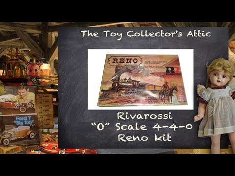 """Rirarossi """"O"""" scale American 4-4-0 Kits from the early 1960's"""