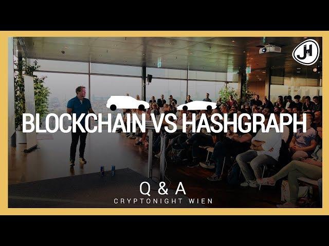 DE: Blockchain VS Hashgraph - Hat Blockchain eine Zukunft? | Q&A Cryptonight Wien