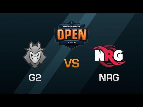 G2 vs NRG - Semifinals - DreamHack Open Leipzig 2018